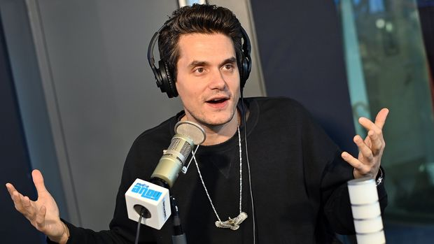 NEW YORK, NY - MAY 13:  (EXCLUSIVE COVERAGE) Singer/songwriter John Mayer visits Radio Andy at SiriusXM Studios on May 13, 2019 in New York City.  (Photo by Slaven Vlasic/Getty Images)