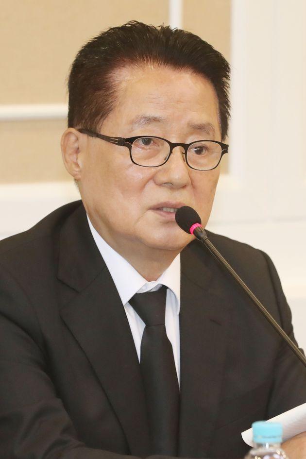 박지원이 정두언 전 의원 사망에