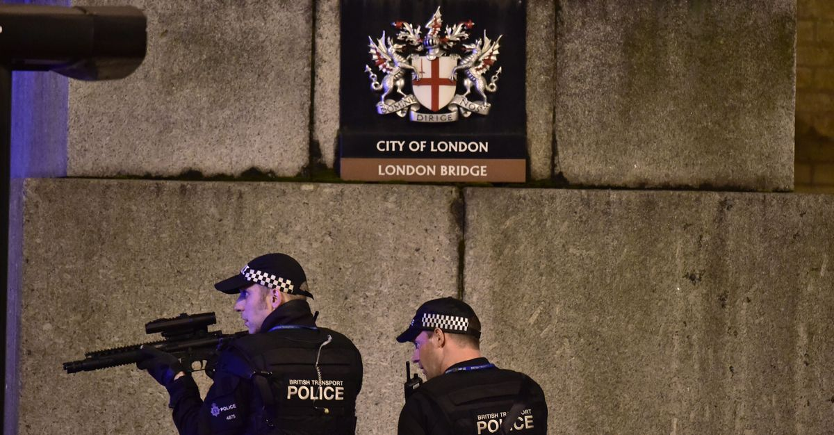 London Bridge Attack Terrorists Were Lawfully Killed By Police