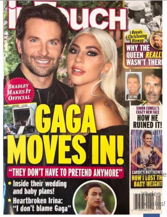 La foto que ha vuelto a disparar los rumores de relación entre Lady Gaga y Bradley