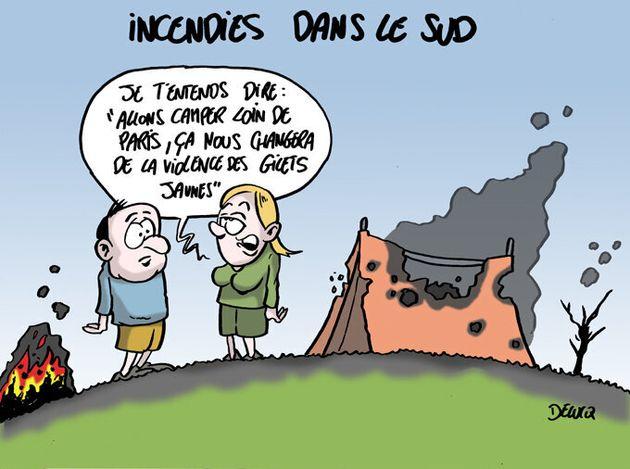 Incendies à Argelès: la capitale du camping ressemble de plus en plus à la