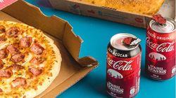 Domino's e Coca-Cola lançam pins colecionáveis de 'Stranger