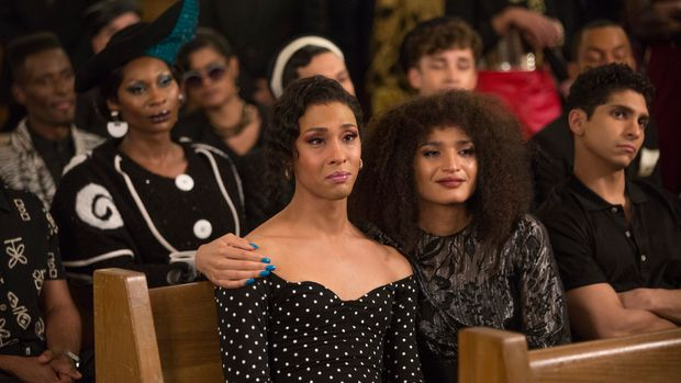 "POSE -- ""Never Knew Love Like This Before"" -- Season 2, Episode 4 (Airs Tues, July 9, 10:00 p.m. e/p) Pictured (l-r):  Mj Rodriguez as Blanca, Indya Moore as Angel. CR: Eric Liebowitz/FX"