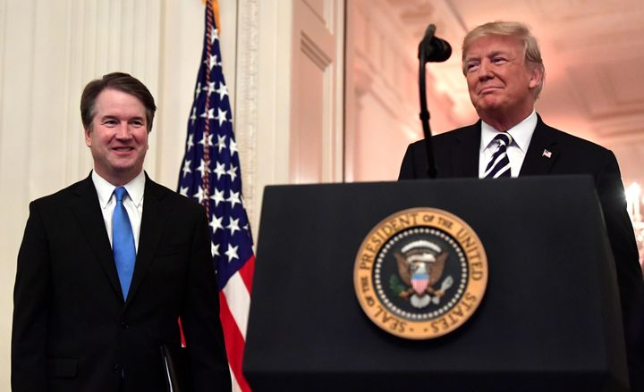 Even in his short tenure on the Supreme Court, Justice Brett Kavanaugh has been joining in court rulings that weaken voting rights or enable voter suppression.