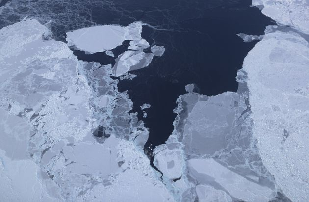 A view of sea ice in Greenland. The Arctic is one of the regions hardest hit by climate