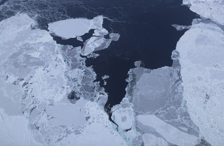 A view of sea ice in Greenland. The Arctic is one of the regions hardest hit by climate change.