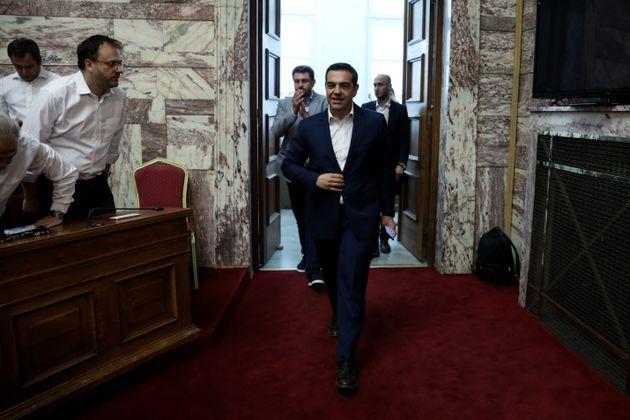 Tσίπρας: Είμαστε εδώ για να προστατεύσουμε τα συμφέροντα της κοινωνικής