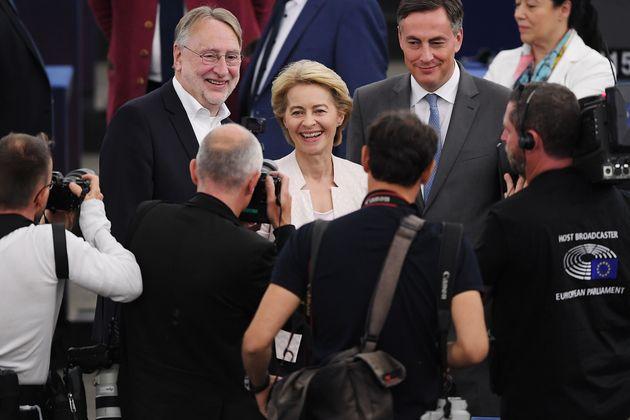 Ursula von der Leyen élue de justesse à la tête de la Commission