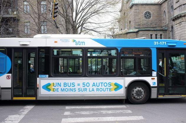 Photo d'archives, bus de la