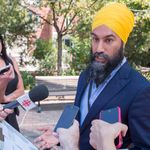 'We Get Lots Of Love': Jagmeet Singh Not Sweating Poll Numbers In