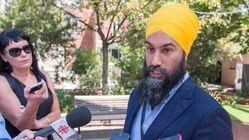 'We Get Lots Of Love': Jagmeet Singh Not Sweating Poll Numbers In