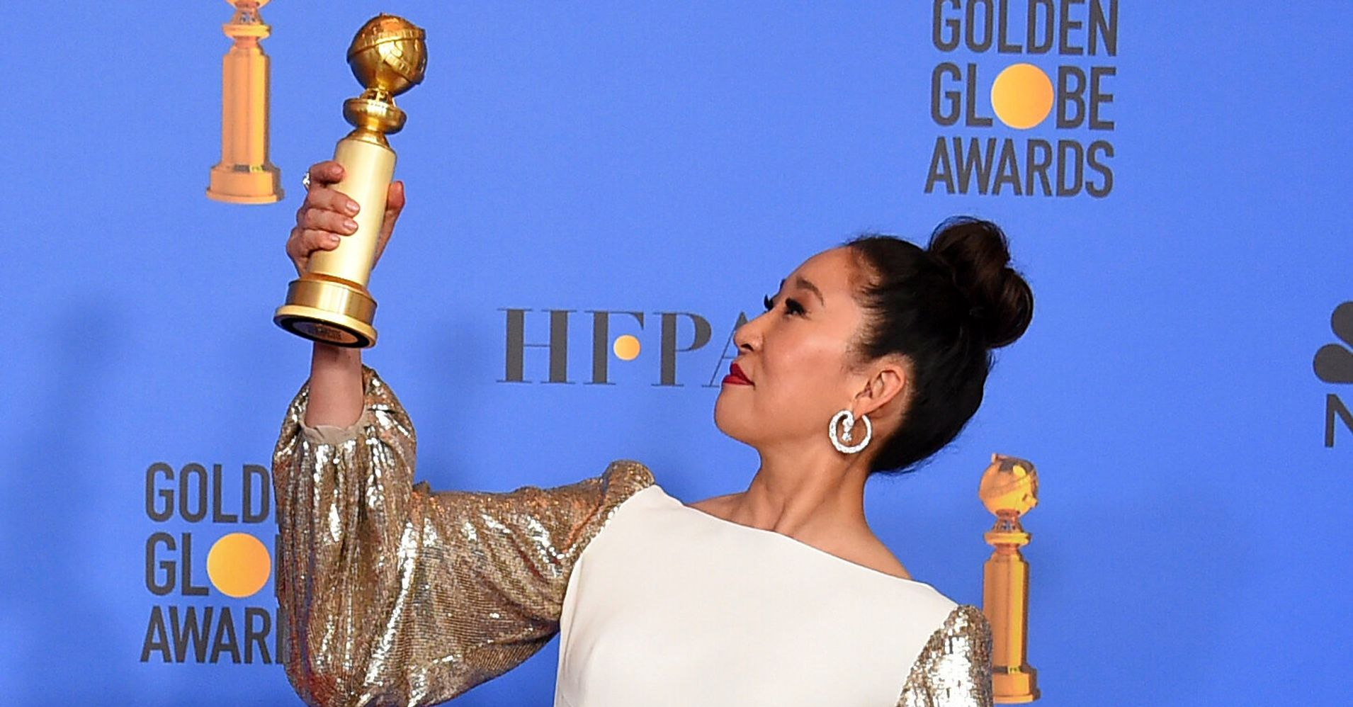 Sandra Oh's Awards Streak Continues With Double Emmy Nominations