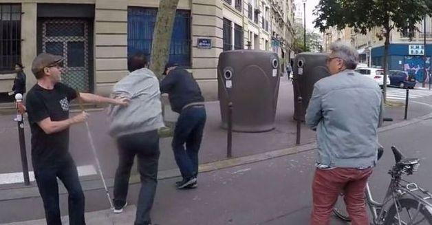L'automobiliste qui avait agressé un aveugle à Paris condamné à 2000 euros d'amende