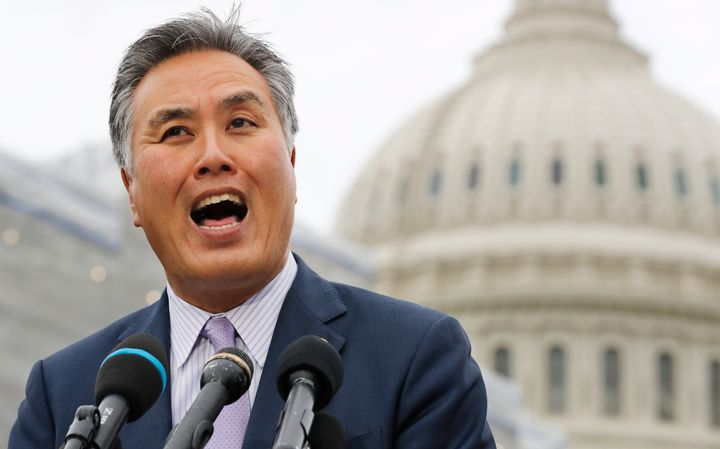 """Rep. Mark Takano (D-Calif.) said he has had people telling him to """"go back to China"""" — even though he's of Japanese ancestry."""