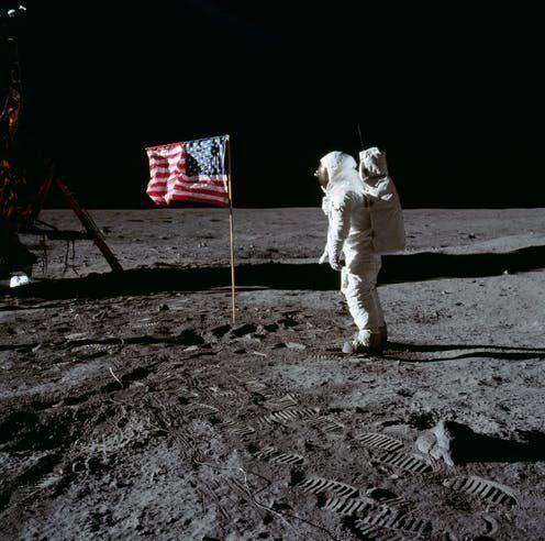 Buzz Aldrin en la Luna.NASA / Neil A.