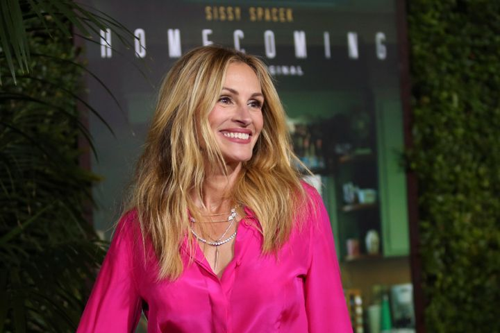"Julia Roberts at the Los Angeles premiere of ""Homecoming."""
