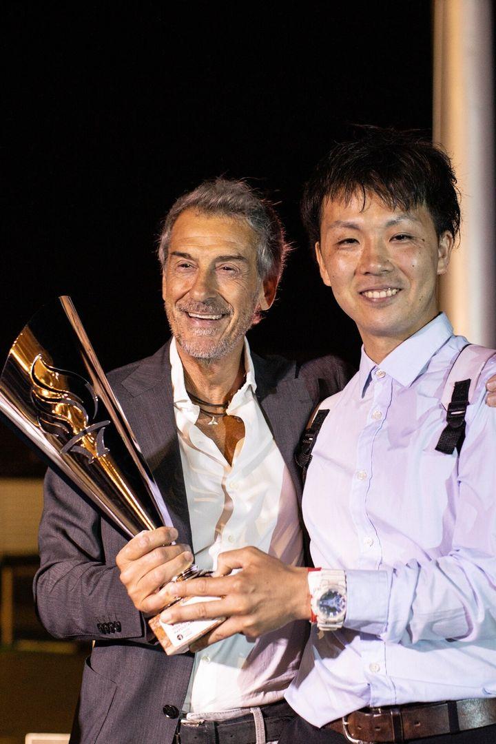 Hiroki Nishimoto (dir.) venceu a competição mais importante do dia.