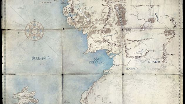 A map Amazon released to tease its upcoming