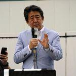 新潟県内の街頭演説で 安倍首相「お父さん、恋人も誘って」