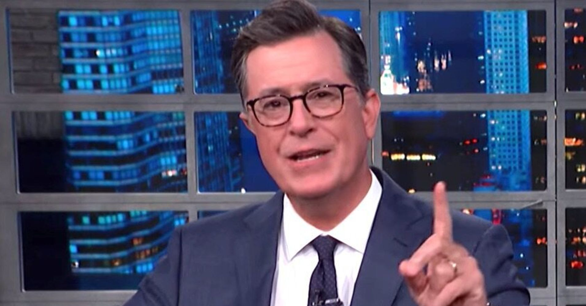 Westlake Legal Group 5d2e8a752400009d17935b88 Colbert Gives Trump A Reminder Of His Own Ugly Past: 'Racism Is Your Brand!'