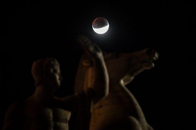 L'éclipse à Rome en