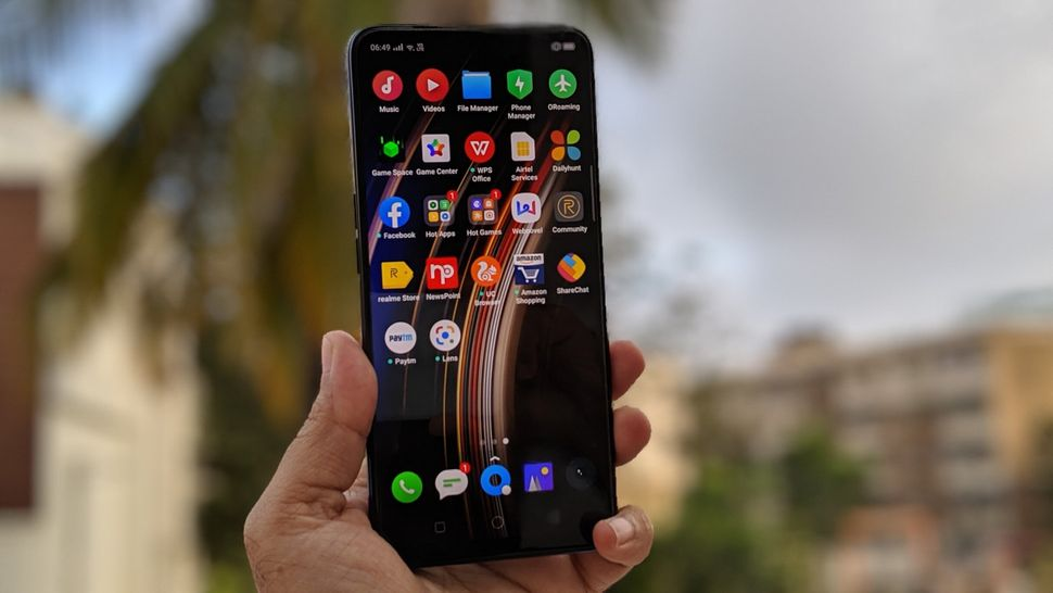 The Realme X has a bloatware problem—most of the apps on the screen above come preinstalled,...