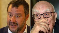 Salvini omaggia Camilleri su Twitter. Ma viene coperto di insulti: