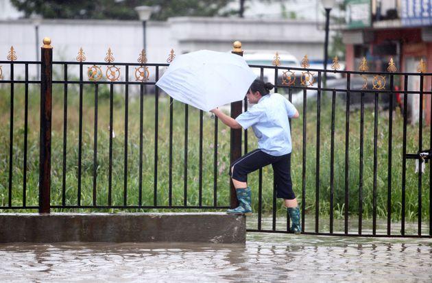 2012년 태풍 볼라벤 중국 지린성