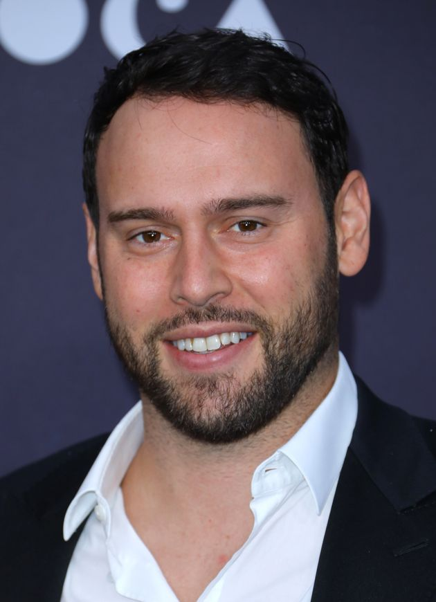 Scooter Braun Uses Aged FaceApp Pic To Send Up Taylor Swift Drama