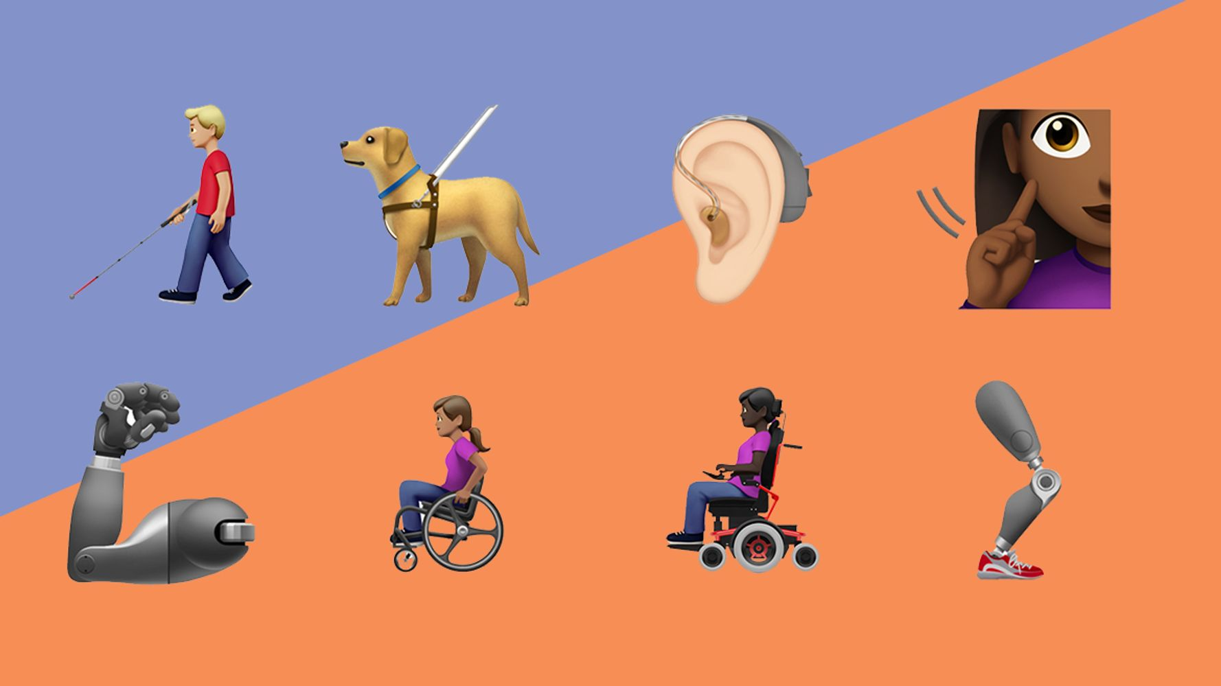 Disabled People Will Finally Have Emoji Representation.. In The Fall