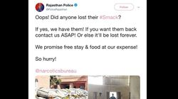 'Oops! Did Anyone Lost their #Smack?': Rajasthan Police Tweet Prompts