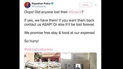 'Oops! Did Anyone Lost their #Smack?': Rajasthan Police Tweet Prompts