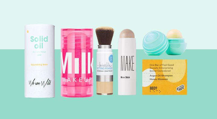 The Best Solid Beauty And Skincare Products That Will Make Packing For Your Holiday Easy   HuffPost Life