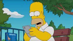 El día que Homer Simpson mandó su meme por WhatsApp y otros famosos que se han reído de sí