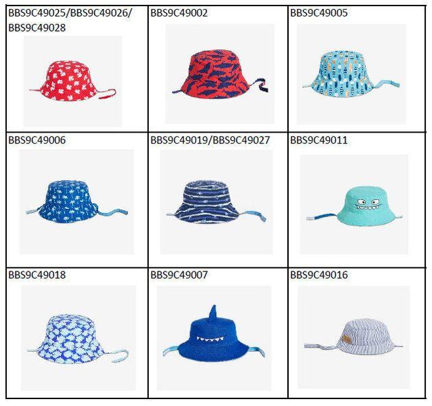 Ces chapeaux de soleil pour bébés Joe Fresh font l'objet d'un