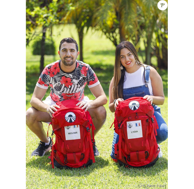 Mounir et Lydia, en couple et candidats à