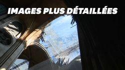 Les nouvelles images des dégâts de Notre-Dame avant sa