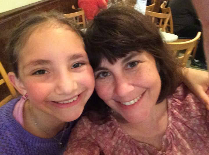 Debi Lewis and her daughter Sammi out to eat at one of their favorite local restaurants.