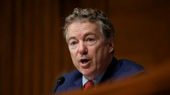 Sen. Rand Paul, R-Ky., speaks during a Senate Committee on Health, Education, Labor, and Pensions hearing on Capitol Hill in Washington, Tuesday, March 5, 2019, to examine vaccines, focusing on preventable disease outbreaks. (AP Photo/Carolyn Kaster)