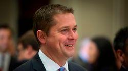 Andrew Scheer fera campagne sur la hausse du coût de la vie cet