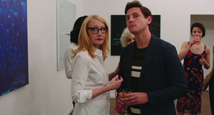 "Patricia Clarkson (left) and Augustus Prew in ""Sell By,"" screening this month at Outfest Los Angeles."