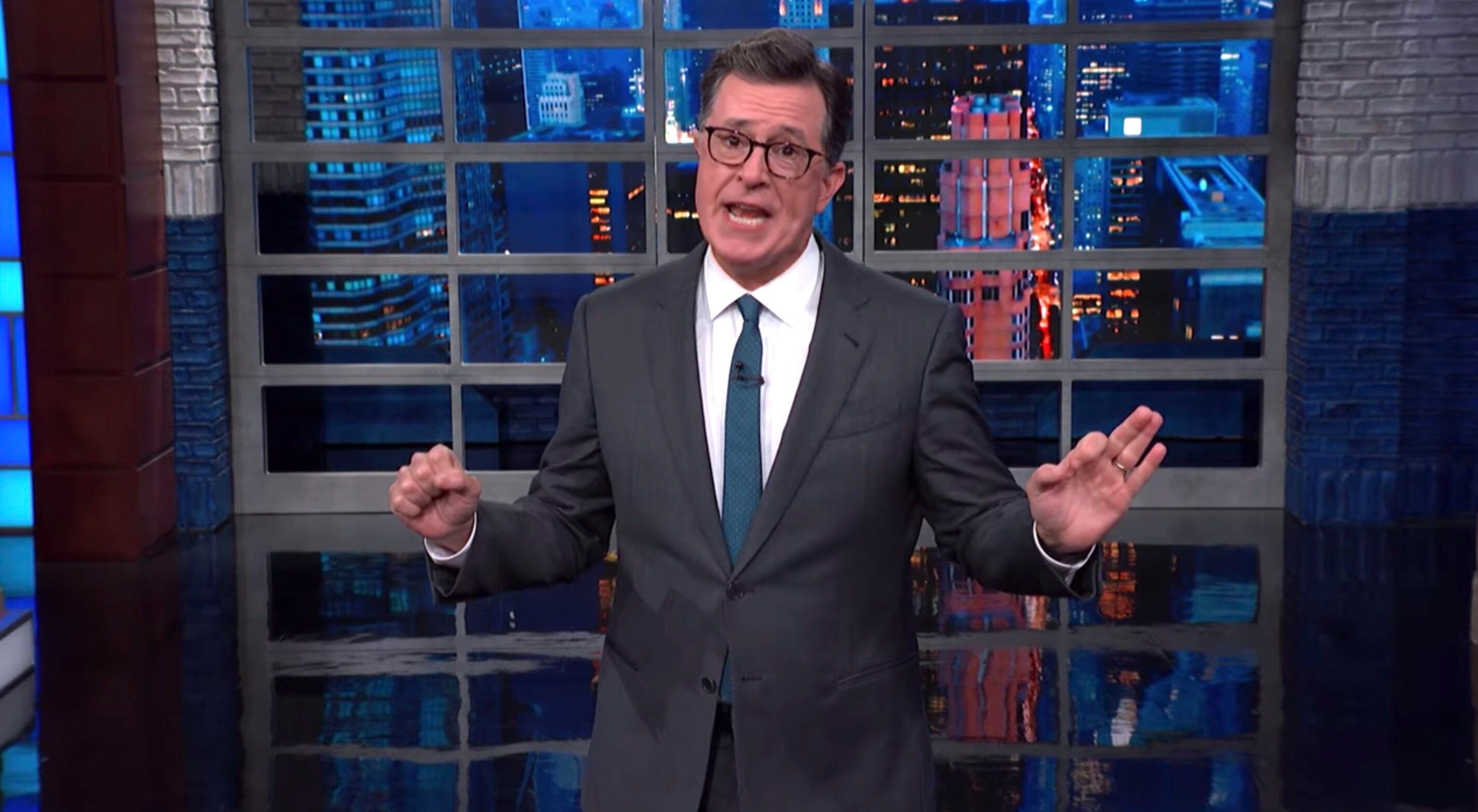 Colbert Thinks Trump By chance Revealed Manner Too A lot About His Marriage