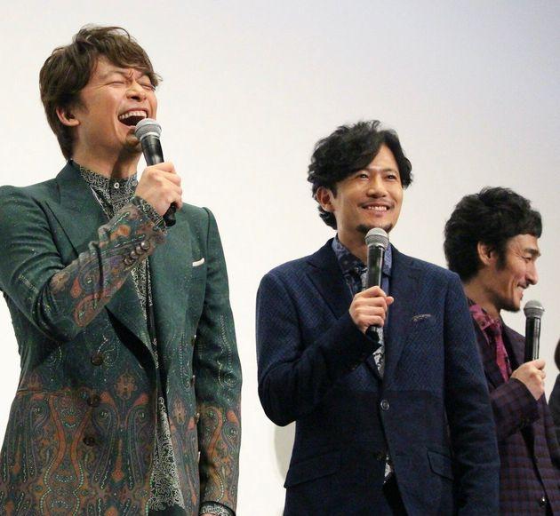 香取慎吾さん、稲垣吾郎さん、草彅剛さん