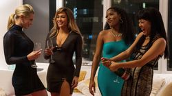 In 'Hustlers,' Jennifer Lopez, Constance Wu And Cardi B Strip Down And Get