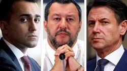 """TIRI INCROCIATI - La crisi di Governo aleggia. Conte si sfila da """"operazione opache o ambigue"""". Salvini e Di Maio si"""
