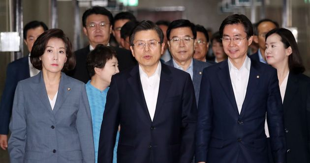 황교안 자유한국당 대표가