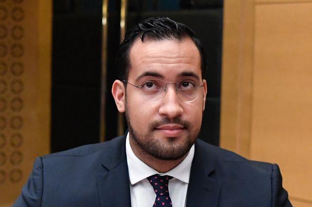 Alexandre Benalla avant son audition devant la Commission des lois du Sénat, le 19 septembre