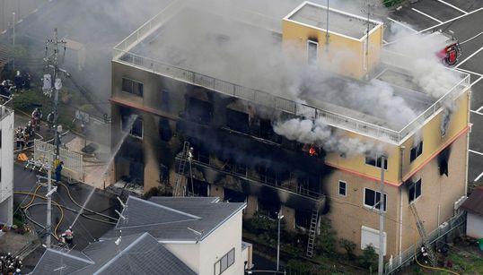 Al menos 33 muertos en un incendio intencionado en un estudio de 'anime' de