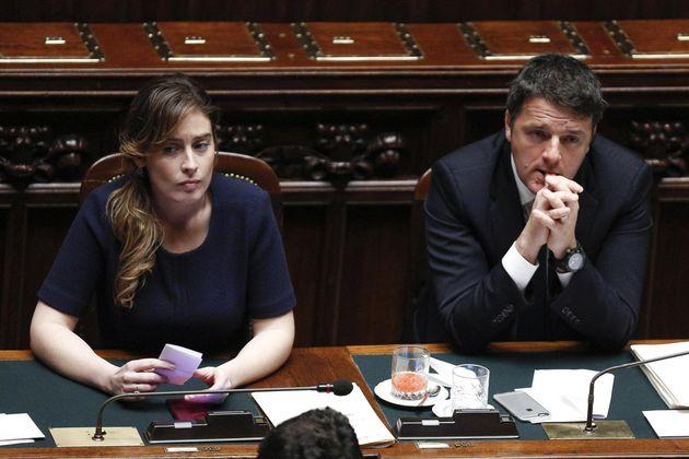 Maria Elena Boschi e Matteo Renzi vogliono sfiduciare Matteo