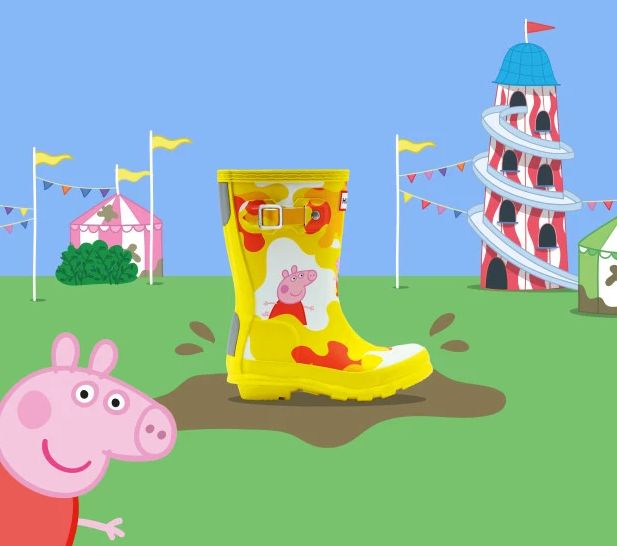 Peppa Pig Hunter Wellies Are Now Available To Buy For Your Kids | HuffPost Life
